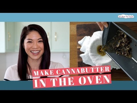 How To Make Cannabis Butter In The Oven - Cannabis Food Tips