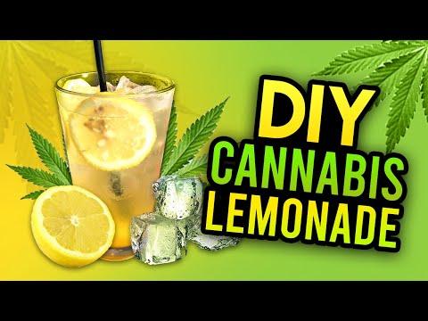 DIY Cannabis Lemonade - Cannabis Food Tips
