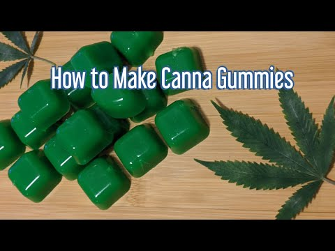 How to Make THC Infused Gummies - Cannabis Food Tips