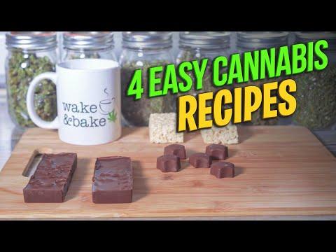 4 Easy Cannabis Recipes - Cannabis Food Tips