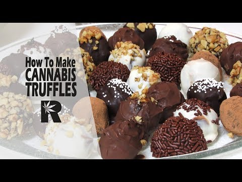 How To Make Cannabis Infused Chocolate Truffles - Cannabis Food Tips
