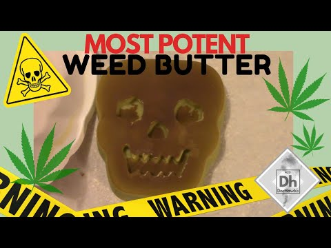 How To Make Youtube's Most Potent Cannabutter - Cannabis Food Tips