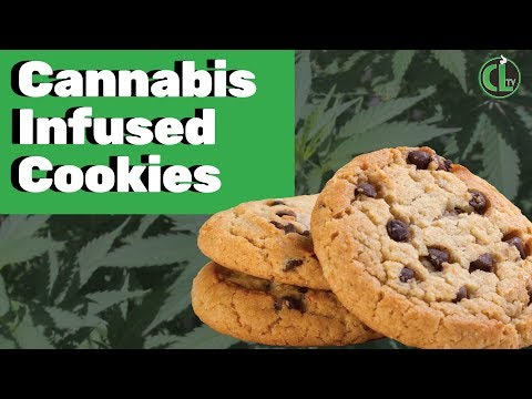 Easy Cannabis Chocolate Chip Cookie Recipe - Cannabis Food Tips
