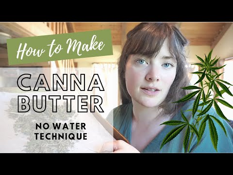 How to Make Cannabutter - Cannabis Food Tips