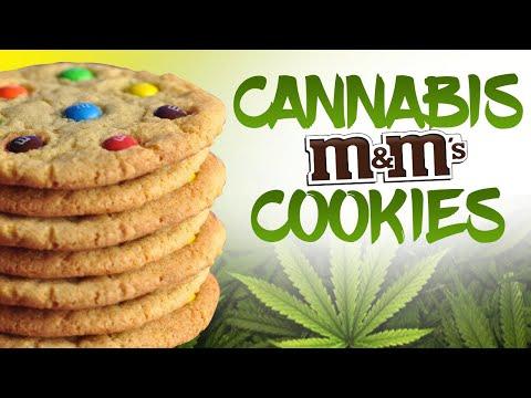 Cannabis M&M Cookies - Cannabis Food Tips