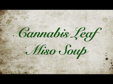 Cannabis Leaf Miso Soup - Cannabis Food Tips