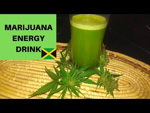 Marijuana Energy Drink - Cannabis Food Tips